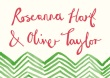 Fancy Chevron RSVP