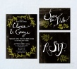 Mistletoe stationery set